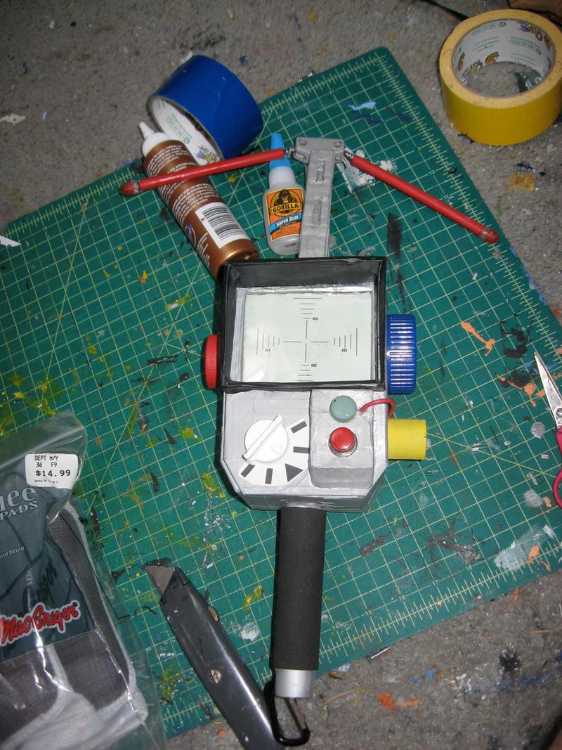 Real Ghostbusters Pke Meter By Angstyguy On Deviantart