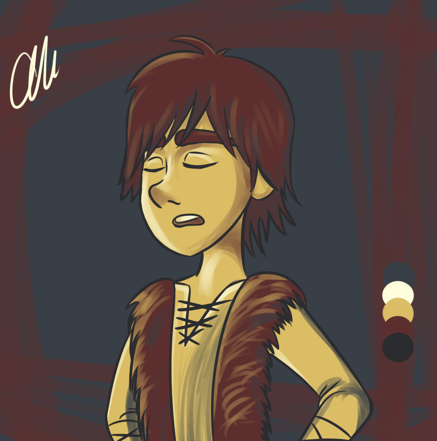I'm A Man | Hiccup | Color Palette Challenge by alicraxy