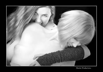 Vamp Girls Playing by RickyBrownEyes