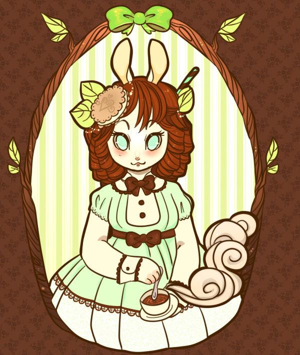 .Mint Bunny.