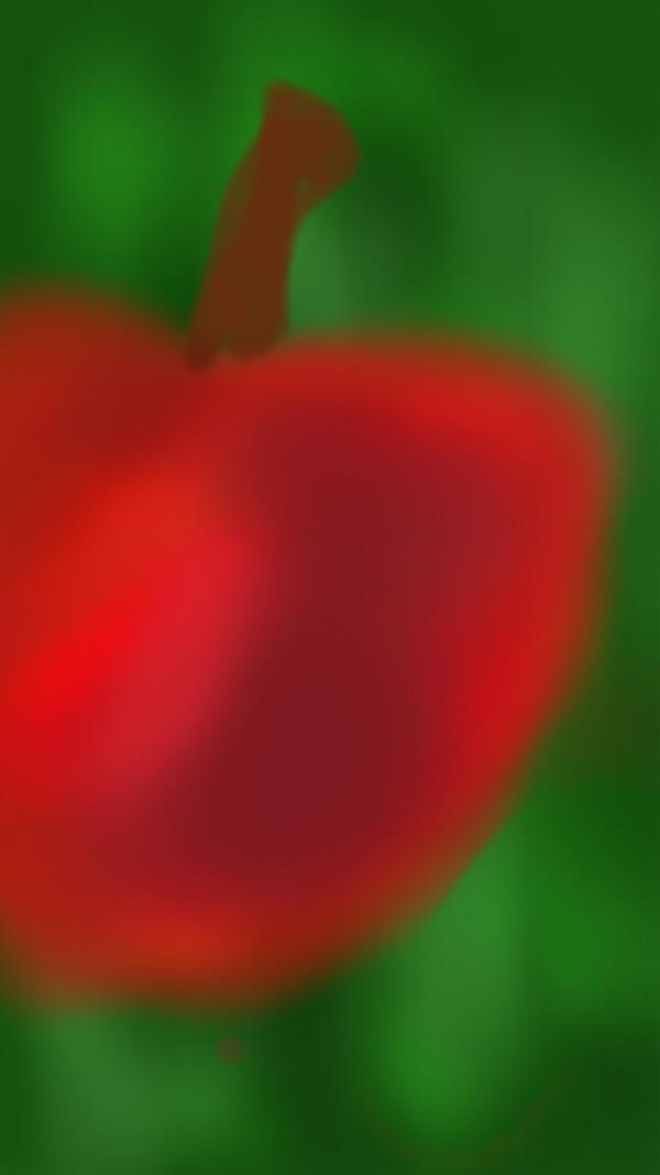A apple by dokimydog