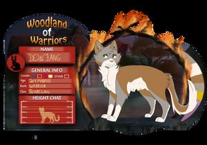 Dewfang l Woodland of Warriors