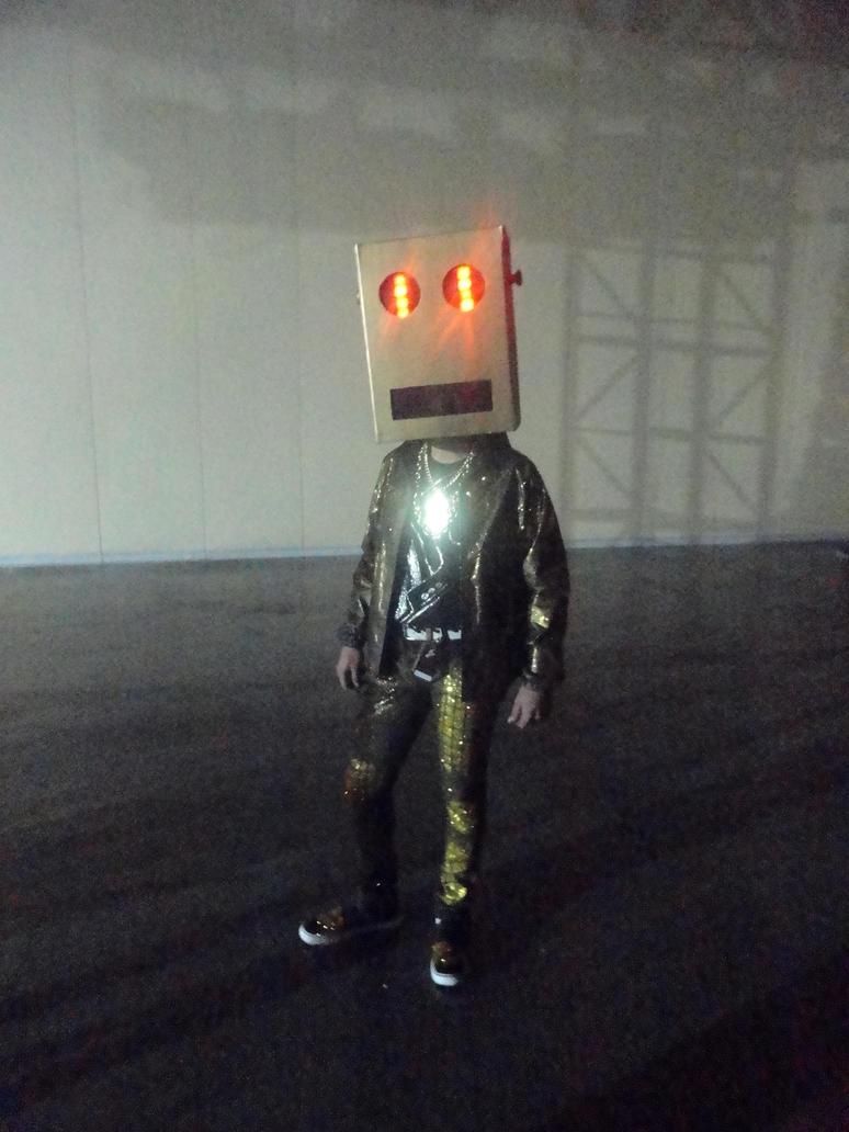 lmfao robot real face - photo #15