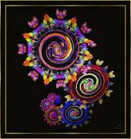 Mechanicalish Flowers by Sunny-77
