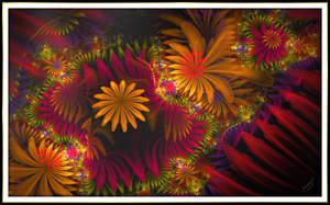 Illuminated Flowers by Sunny-77