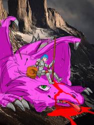 Dragon Slayer by waynehom