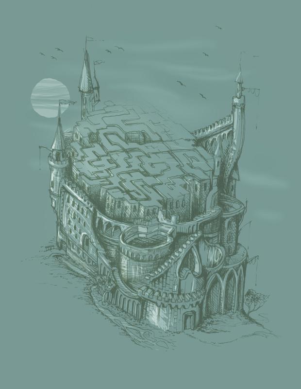 castle by tolagunestro