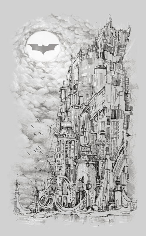 I am Gotham by tolagunestro