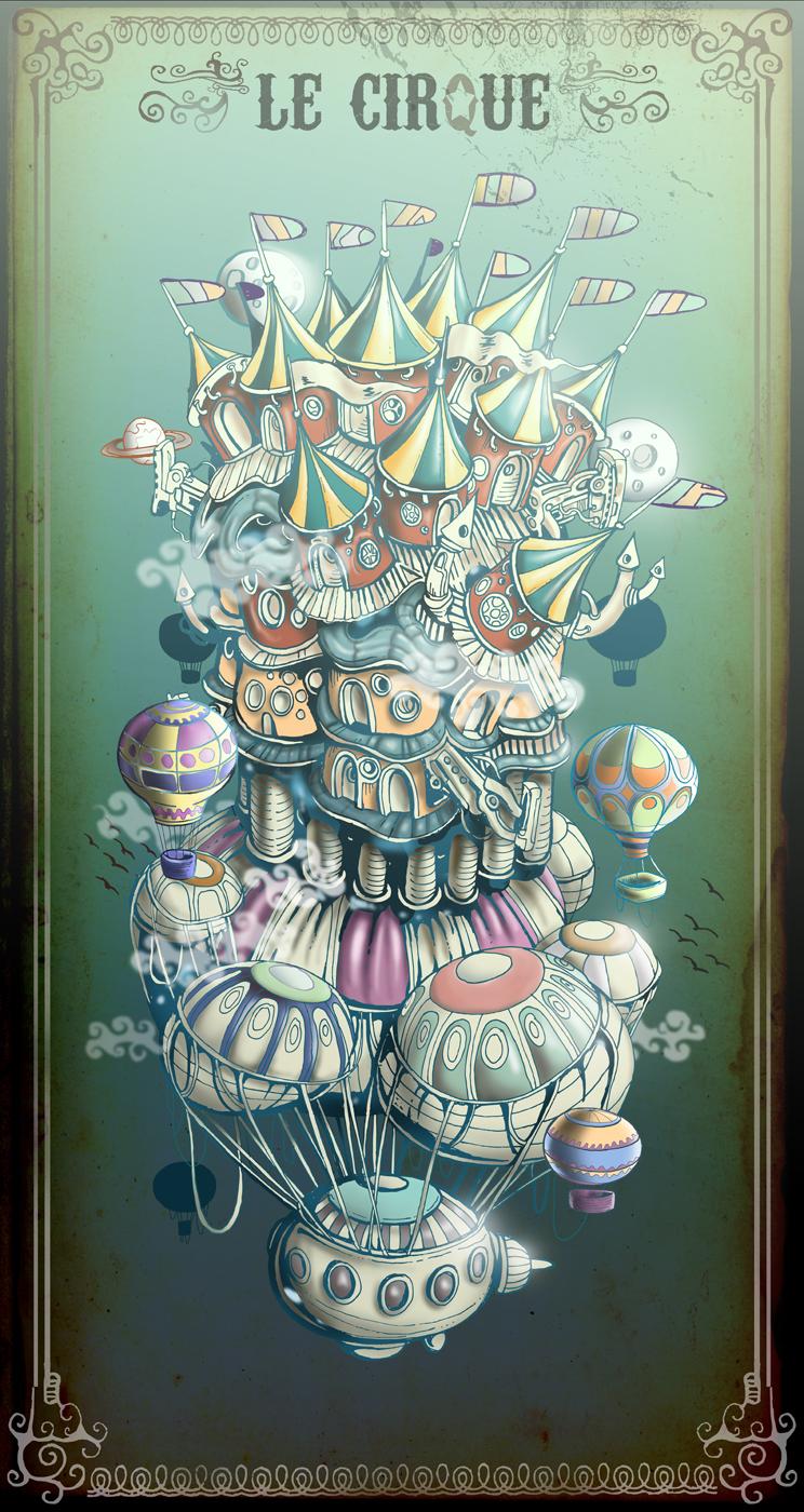 Le Cirque by tolagunestro
