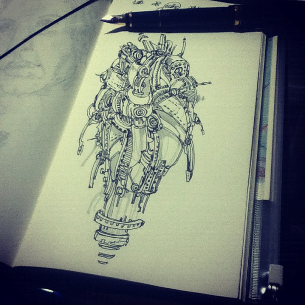Sketch by tolagunestro