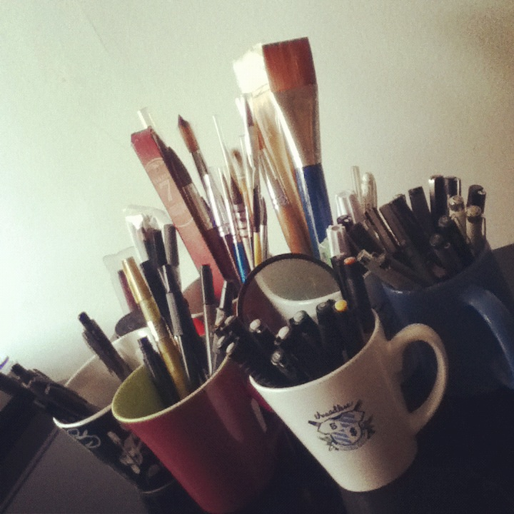 Materiais que uso by tolagunestro