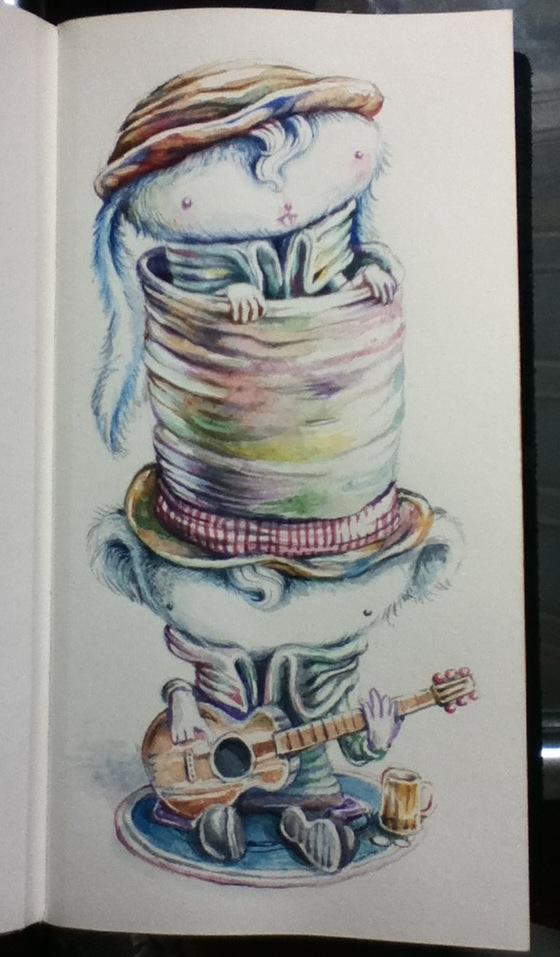 Watercolors by tolagunestro