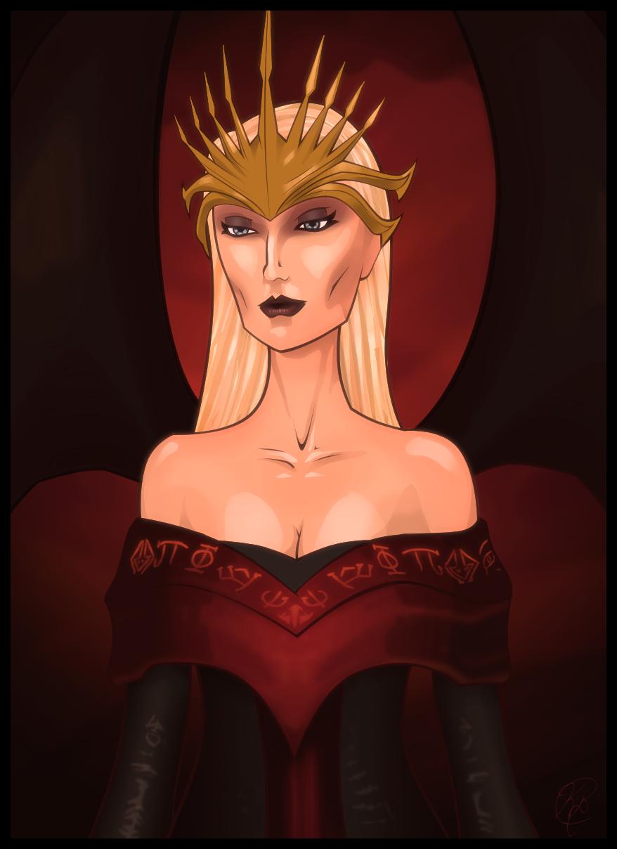 Queen Natla by KeithByrne
