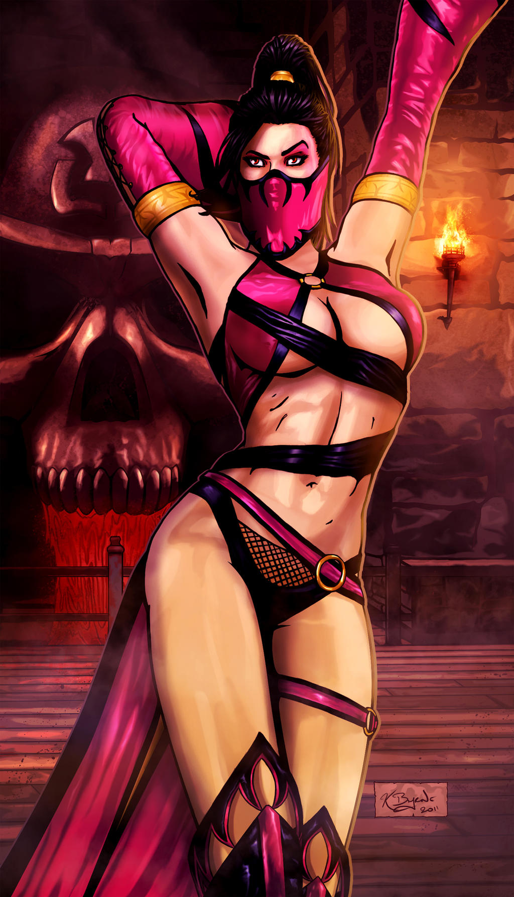 cosplay Mortal hentai kombat kitana