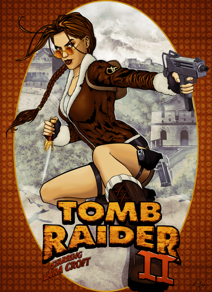 Tomb Raider II by KeithByrne