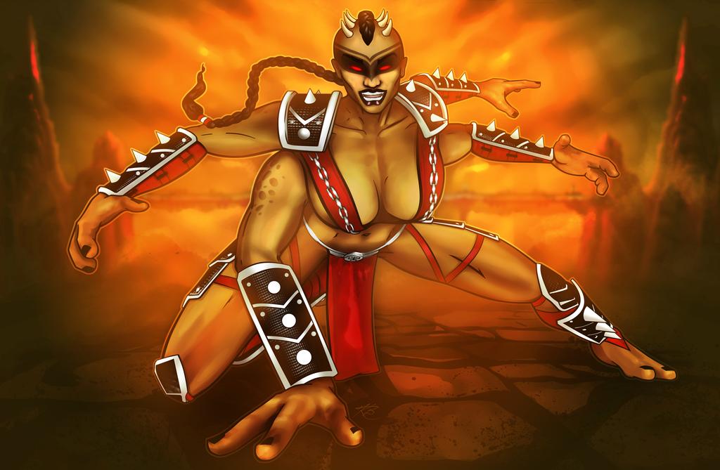 Mortal Kombat: Sheeva by Keifus