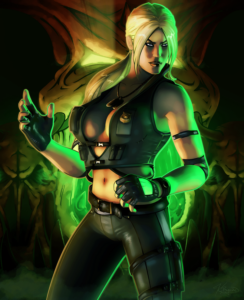 Mortal Kombat: Sonya Blade by KeithByrne