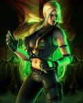 Mortal Kombat: Sonya Blade