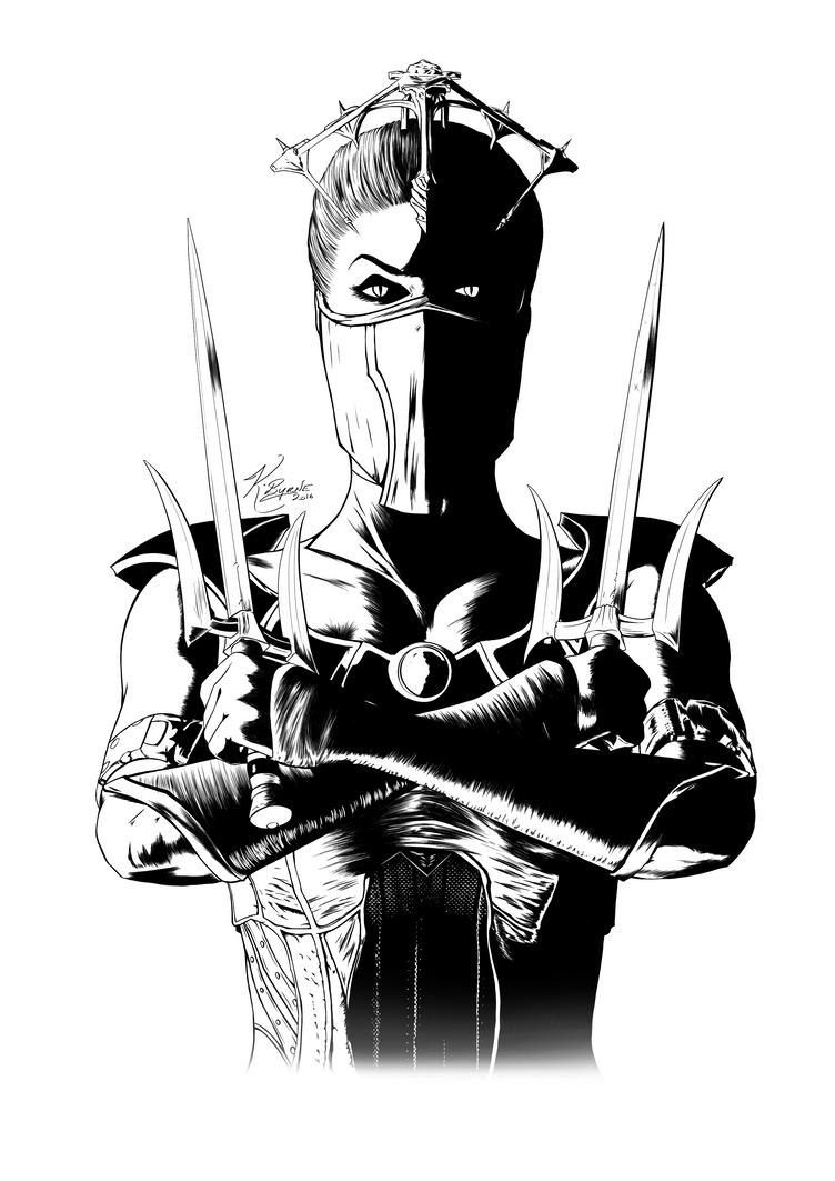 Mortal Kombat - Vampiress Mileena by KeithByrne