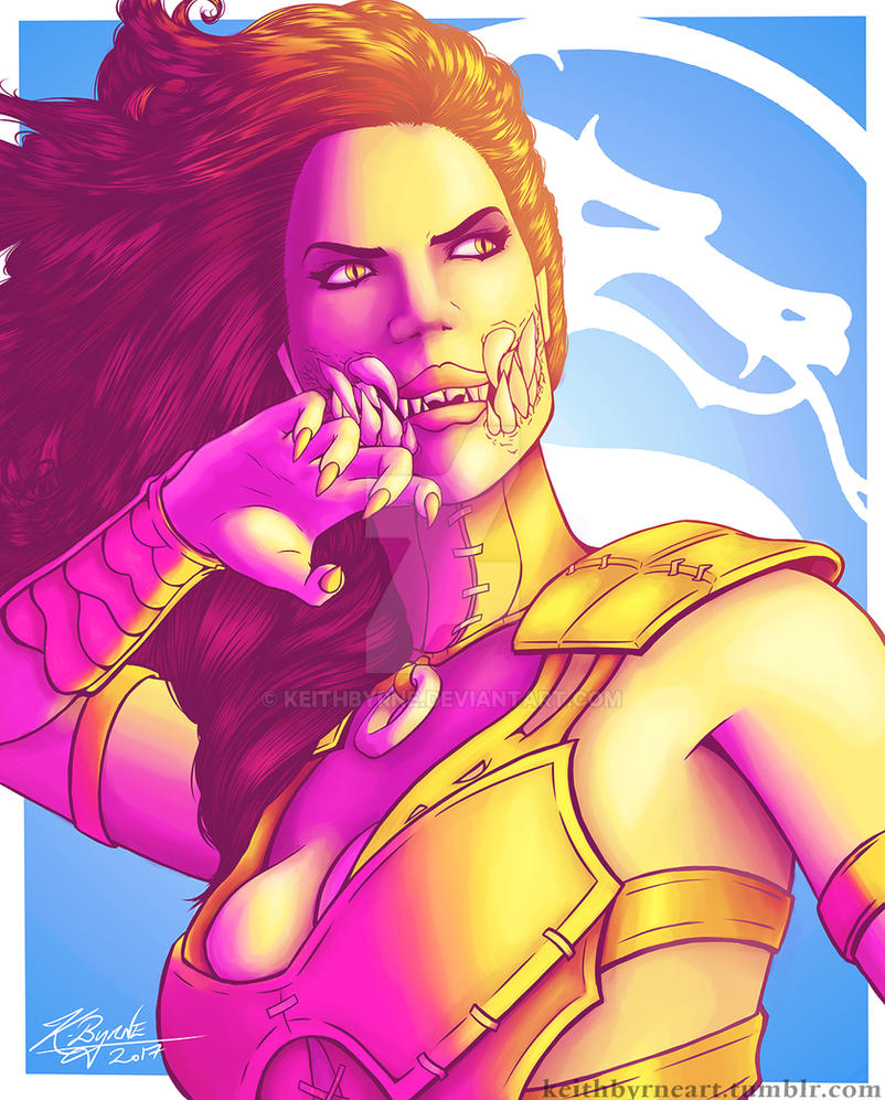 Mileena - Empress of Outworld by KeithByrne