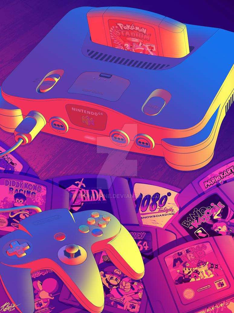 N64 by KeithByrne