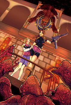 RE2: Claire and Sherry