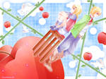 Heavenly Apple Garden