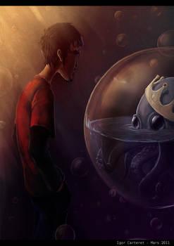 in bubbles