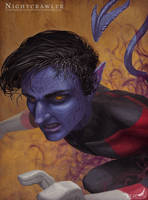 Xmen Portrait - Nightcrawler