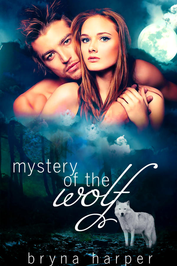 Book Cover - Mystery of the Wolf