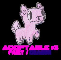 Adoptable Fakemon #3 by xSwordsDance