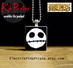 OP Kid Pirates tile pendant