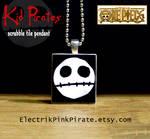 OP Kid Pirates tile pendant