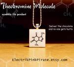 Chocolate molecule pendant