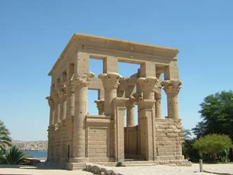 Egyptian Temple III by MsWolfe