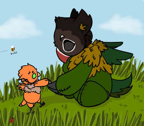 Little Griffin by Blairlin