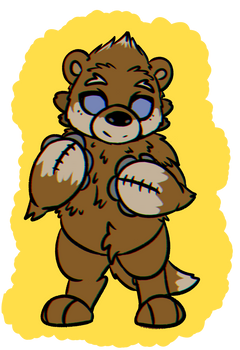 Isaac the otter