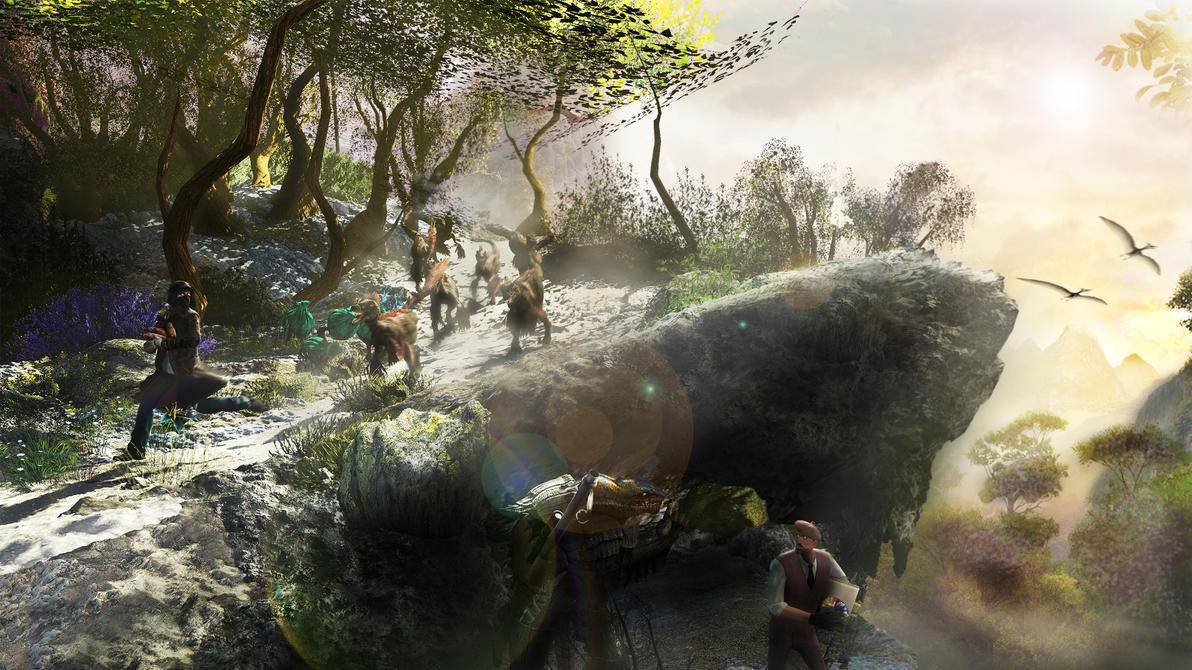 The Big Hunt by MistaHeita