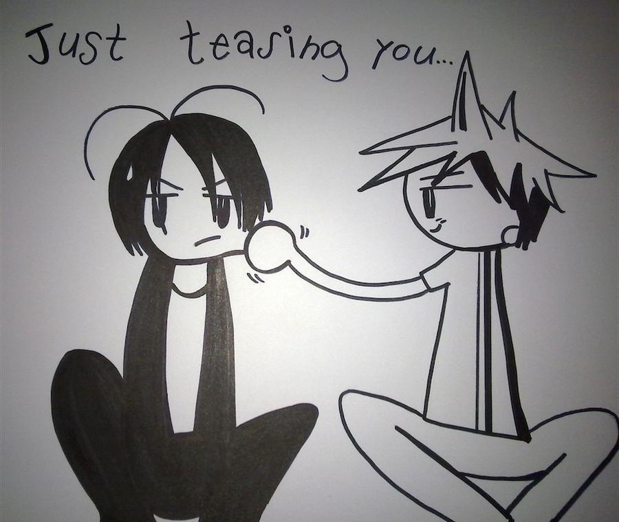 teasing you... by SaMiYumiI18