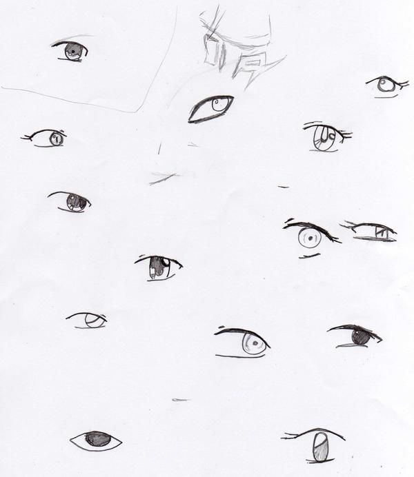 Anime Eye Study by Animehedonist on DeviantArt
