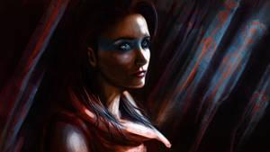 speed paint portrait