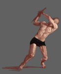 speedpaint body study