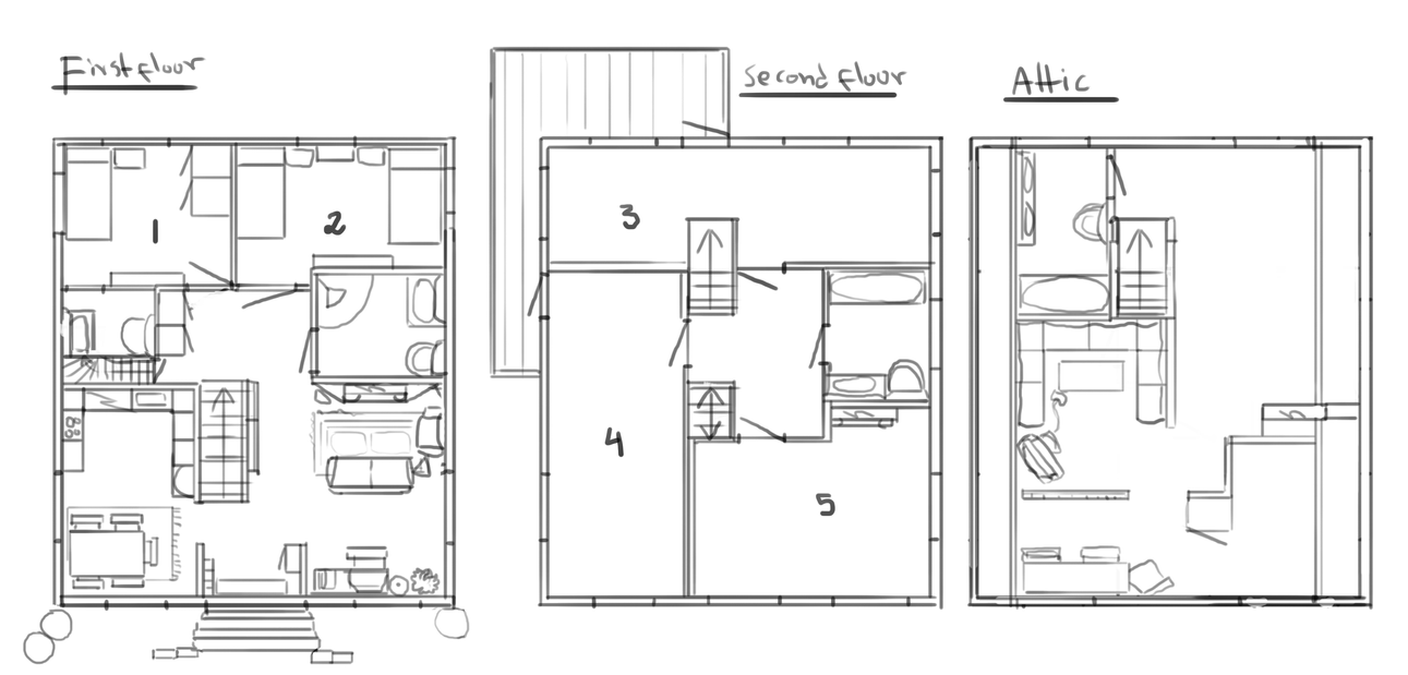 Wip house blueprints by roiuky on deviantart wip house blueprints by roiuky malvernweather Image collections