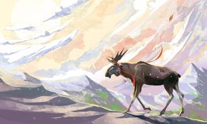 The keitflying moose