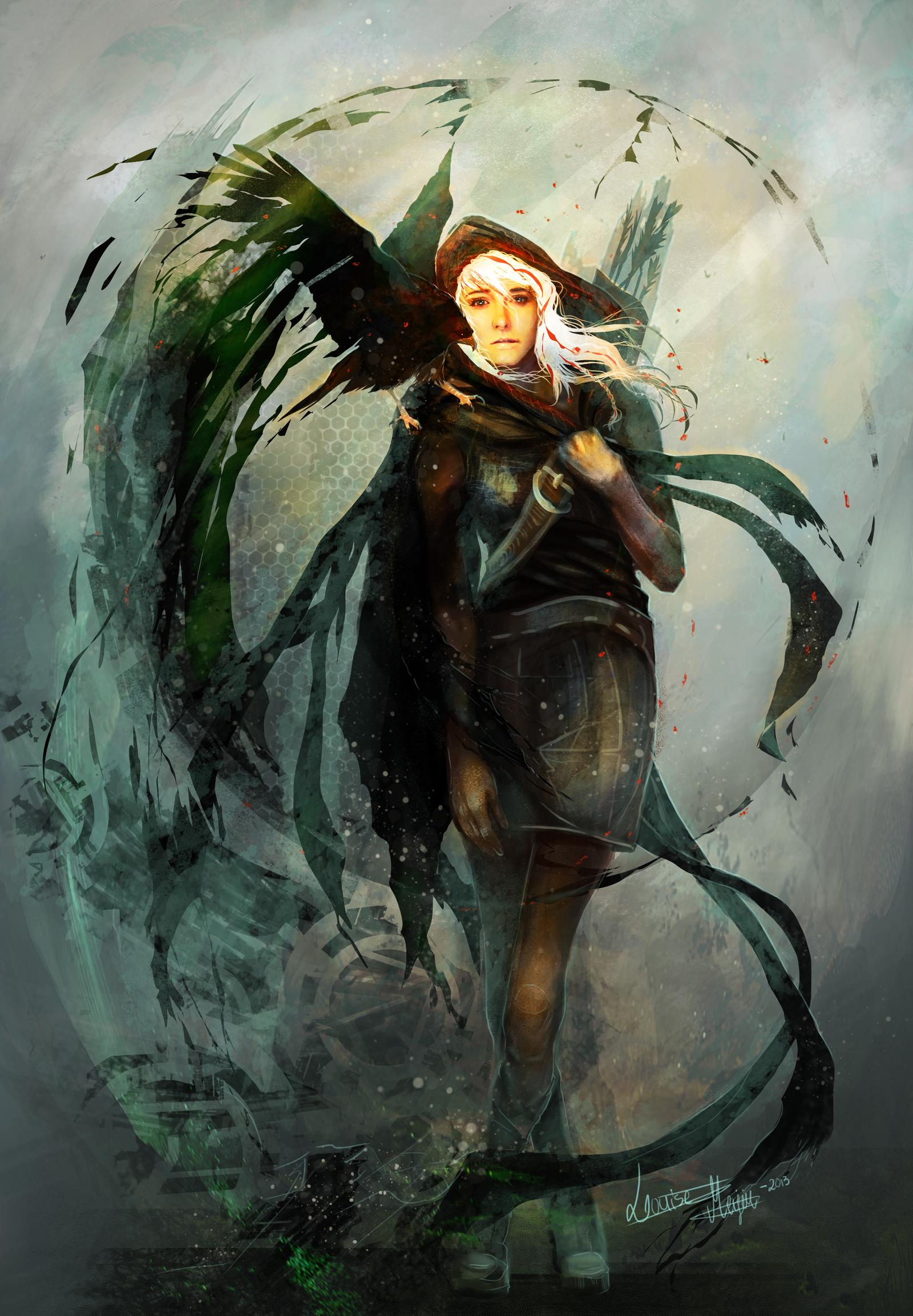 The hunter by Roiuky