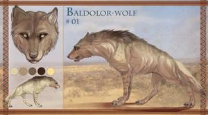 Baldolor-wolf #01 The Savah