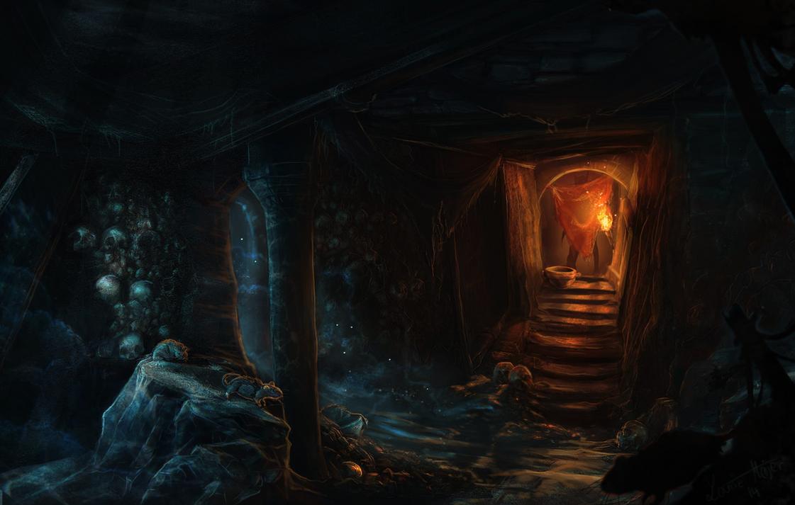 Medusas Labyrinth: ConceptCatacombs by Roiuky