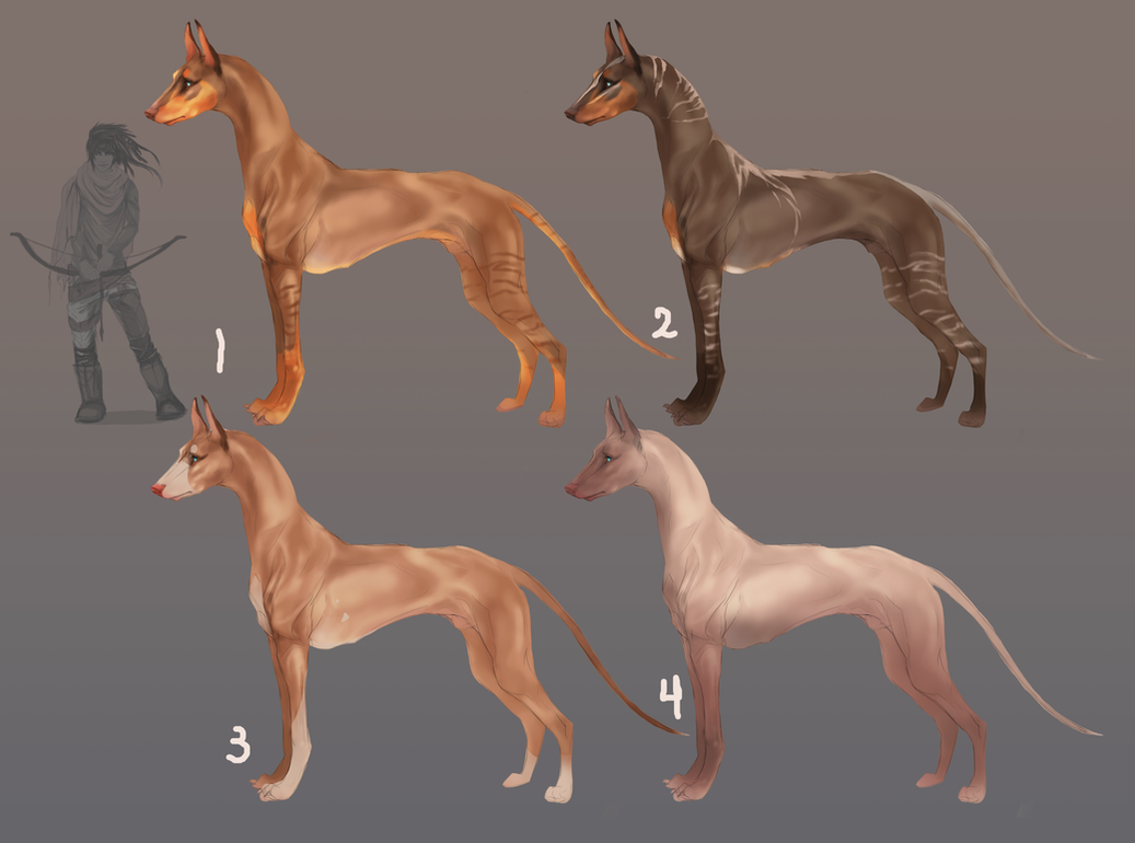 Asim hounds by Roiuky