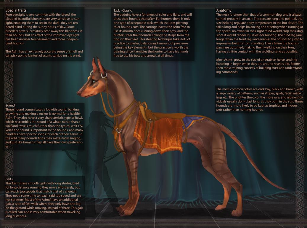 Asim Hound - Breed sheet by Roiuky