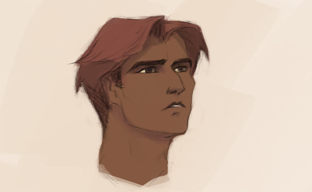 Disneyderp - Male face by Roiuky